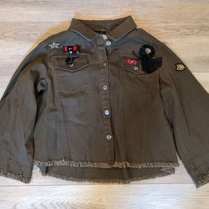 Guest Editor Military Inspired Jacket.